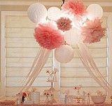 20CM festive wedding decorations DIY paper flower ball garland wholesale shipping paper peony exported to Europe - китайский интернет магазин Megataobao