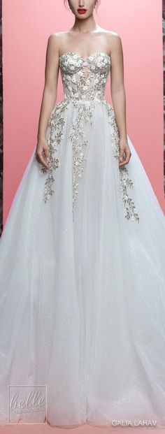 Ballgown Wedding Dresses By Galia Lahav Couture Bridal Spring 2019 Collection- Queen of Hearts - Allegra | Sweetheart bridal gown for the princess bride | #weddingdress #weddingdresses #bridalgown #bridalgowns #bridal #bride #wedding #weddings