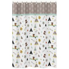 Sweet Jojo Designs Outdoor Adventure Cotton Shower Curtain Reviews