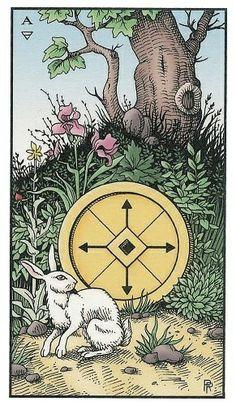 Ace of Coins Tarot Card