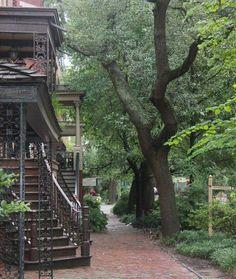 Jones Street in Savannah