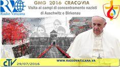 Papa Francesco in Polonia, Visita al Campo di Concentramento di Auschwitz-Birkenau,  dove incontra alcuni sopravvissuti all'Olocausto (29 iulie 2016).