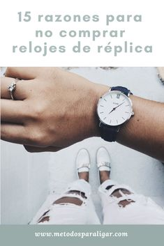 15 razones para no comprar relojes de réplica o falsificaciones - Métodos  Para Ligar f418d08ed941