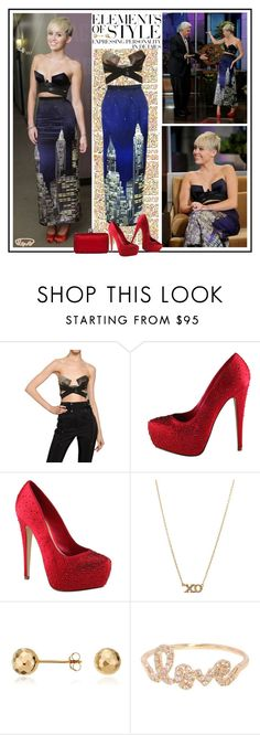 """""""Celebrity Style - Miley Cyrus"""" by robilollo ❤ liked on Polyvore featuring Lauren Ralph Lauren, Vera Wang, Anthony Vaccarello, Cyrus, ALDO, Jennifer Meyer Jewelry, Blue Nile, Sydney Evan, get the look and miley cyrus"""