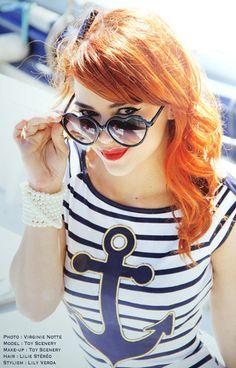 Nautical Fashion #herbexcruise www.herbexcruise.mobi