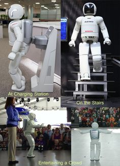The Honda Asimo. The future companion and helper robot for #elderly, #seniors, #handicapped, and all around aid.
