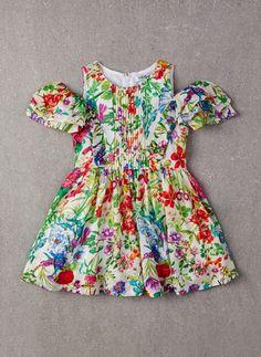 Nellystella Alexis Dress in Garden Floral Outfits Niños, Kids Outfits, Little Girl Fashion, Kids Fashion, Little Miss Dress, Cute Dresses, Girls Dresses, Kids Ethnic Wear, Frocks For Girls