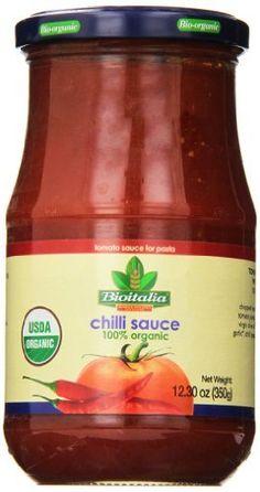 Bioitalia Ready Made Chili Pepper Sauce, 12 Ounce (Pack of 12) - http://goodvibeorganics.com/bioitalia-ready-made-chili-pepper-sauce-12-ounce-pack-of-12/