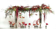 Accent Decor is a supplier offering innovative and cutting edge products that provide inspiration for the home decor, event, and floral industry Crystal Garland, Crystal Tree, Vase Centerpieces, Wedding Centerpieces, Christmas Home, Christmas Wreaths, Glitter Invitations, Hanging Crystals, Sweetheart Table