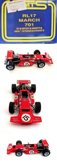 1 43 Scale 145976: Smts Factory Built Model - Rl 17 - 1 43 - 1970 March 701 - Chris Amon - F1 -> BUY IT NOW ONLY: $49.95 on eBay!