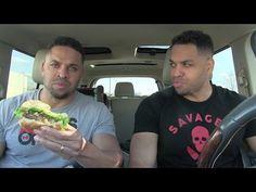 Eating Kraze BBQ Bacon Burger @hodgetwins