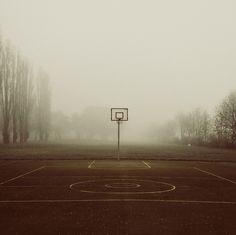 Stunning b-ball shot #streetball #basketball