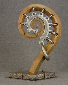 Scroll Sculpture By Jacob Novinger by JacobsMetalScuptures on Etsy