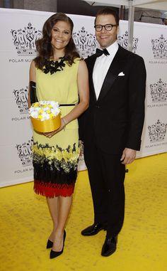 Victoria de Suecia deslumbra en la gala del premio Polar, el Nobel de la música #princess #sweden #royals