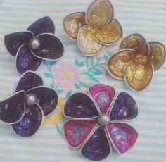 """""""#MiraBijoux#fattoamano#handmade#riciclo#capsule#Nespresso#collane#fiori#flowers"""""""