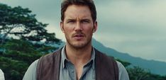 Eli Hawthorne III (before the eye patch). I know, I know, most people will say this is Chris Pratt. But I'm telling you, this is Eli. In all his radiant glory.  :)