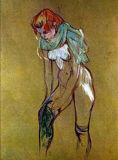 Toulouse-Lautrec, 1864-1901, peintre et lithographe français, postimpressionniste, art nouveau, a réalisé des affiches devenues célèbres