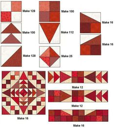 Looks like a ring quilt, but is in fact all straight lines. :) FacetedJewelsQuilt.jpg 649×726 pixels