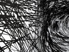 Monika Grzymala (2011-12) - Sticky tape on wall