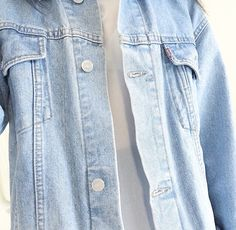 i have a jean jacket but it's like form fitting and i really like the bigger ones.