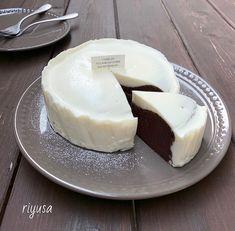 【旦那が絶賛したレシピ】レアチーズのガトーショコラ   riyusa日和。ザッパレシピで褒められおやつと時々おかず