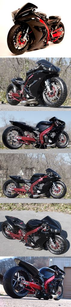 Yamaha R1 Custom.not a suzuki but I couldn't not pin this.