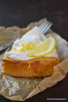 Flourless whole Meyer lemon cake...I have a Meyer lemon tree...gonna be making this cake soon!