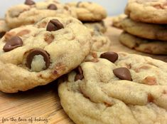 These cookies are like candy bars in cookie form. If you find a SKOR® cookie recipe online it usually only includes the toffee pieces but no chocolate, which just plain doesn't make sense to …
