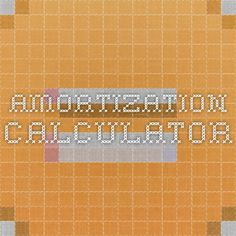 This amortization calculator will instantly build an amortization ...