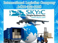 Sky2c offers International Logistics Company, Moving, Relocating and Logistics Service From USA to Inda, Canada, Australia and Singapore. For more details Call Us @ +1 800-353-5128