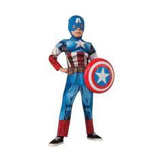 Capt America Child Medium
