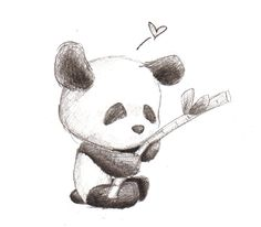 Panda by ~Rebeccannoying on deviantART
