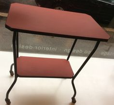 TV-taso 50-luvulta, MYYTY . TV-table from '50s, SOLD