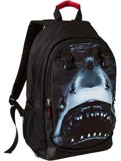 Bungalow360 shark backpack