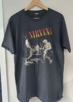 Nirvana Vintage T shirt Size Chest Measurement Retro T shirt Classic T shirt Vintage Band Tees, Vintage Shirts, Look T Shirt, Shirt Style, Nirvana Shirt, Aesthetic Shirts, Cartoon T Shirts, Vintage Looks, Vintage Style
