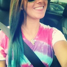 I should get the blue hair dye that lasts for a day.. Then if I liked it go permanent.