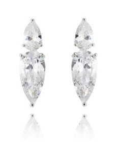comprar brinco cristal da moda com zirconias geometricas semi joias de luxo online
