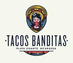Alliteration Inspiration: Outdoors & Outlaws / on Design Work Life. Tacos Banditas logo designed by Adam Grason.