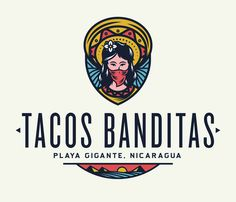 Alliteration Inspiration: Outdoors & Outlaws / on Design Work Life. Tacos Banditas logo designed by Adam Grason.