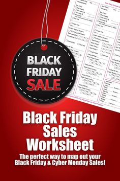 Black Friday Sales Worksheet | Map out your Black Friday & Cyber Monday Sales Plan, For Etsy Sellers, Marketing, Ecommerce, Ebay, Sales by PaperlyPeople on Etsy https://www.etsy.com/listing/257061061/black-friday-sales-worksheet-map-out