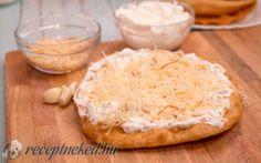 Sütőporos lángos 15 perc alatt recept HahoPihe konyhájából - Receptneked.hu Kefir, Camembert Cheese, Food, Essen, Meals, Yemek, Eten