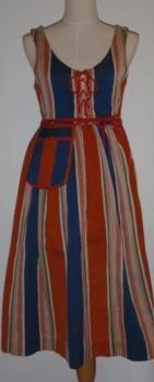 I have this Finnish national dress. Sääksmäen arkipuku