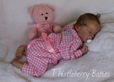 ♥ Thistleberry Babies Full-Body Solid Silicone Baby Girl Beautifully Reborn!♥ | eBay