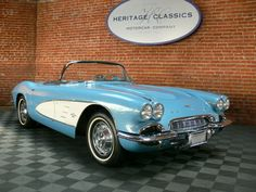 1962 Chevrolet Corvette Two Tops