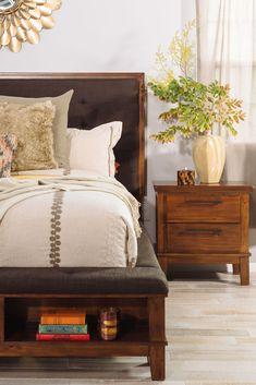 Ashley Ralene Brown Storage Bed