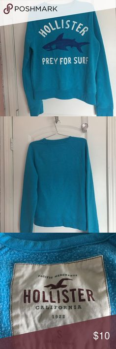 Hollister Prey for surf sweater Cond. 7/10 Size. S Hollister Sweaters Crew & Scoop Necks
