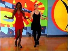 How to do Cumbia Dancing : How to Do Basic Partner Cumbia Dance Steps - YouTube