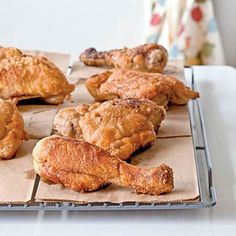A Healthier Fried Chicken Recipe