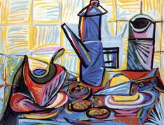 Picasso: Nature morte à la cafetière (1943)
