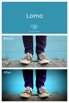 Our Lomo effect mimics the popular look of Lomography, inspired by images produced from toy Lomo cameras. Dramatically change the mood of your photo with this high contrast, soft focus, and dark look.